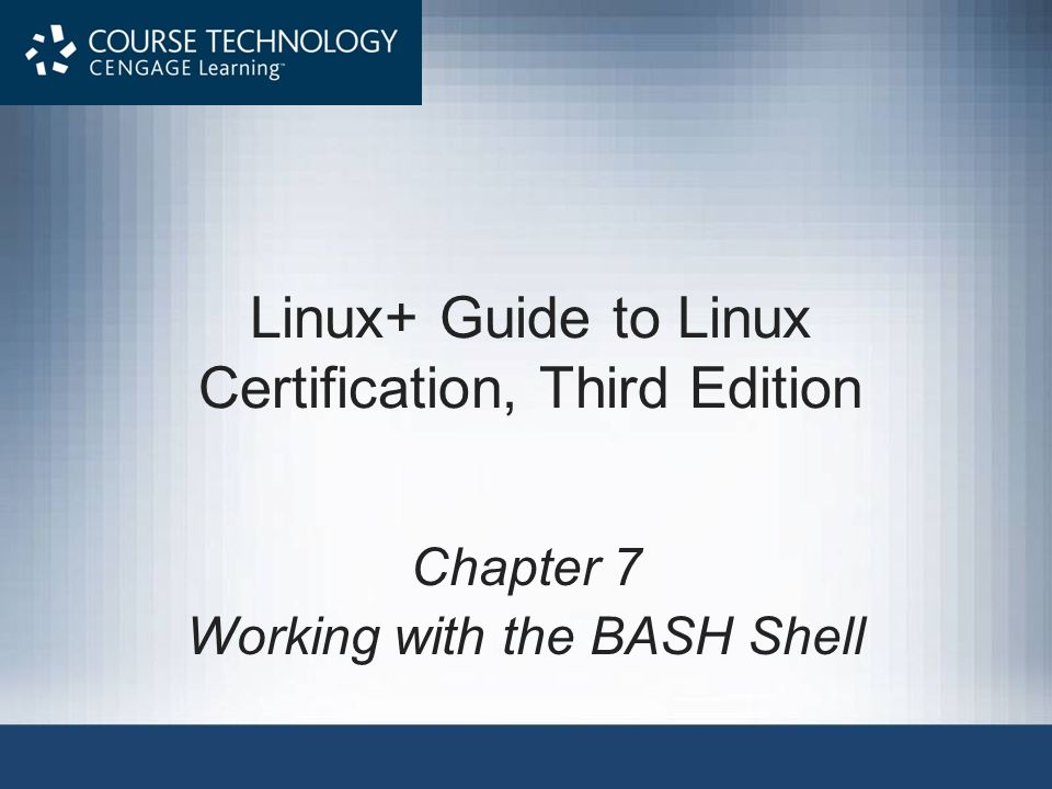 Linux+ Guide to Linux Certification, Third Edition
