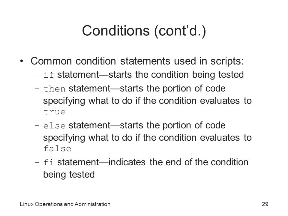 The case statement - Linux Shell Scripting Tutorial - A ...
