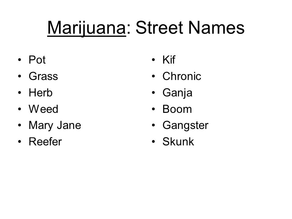 Marijuana and Anabolic Steroids - ppt download