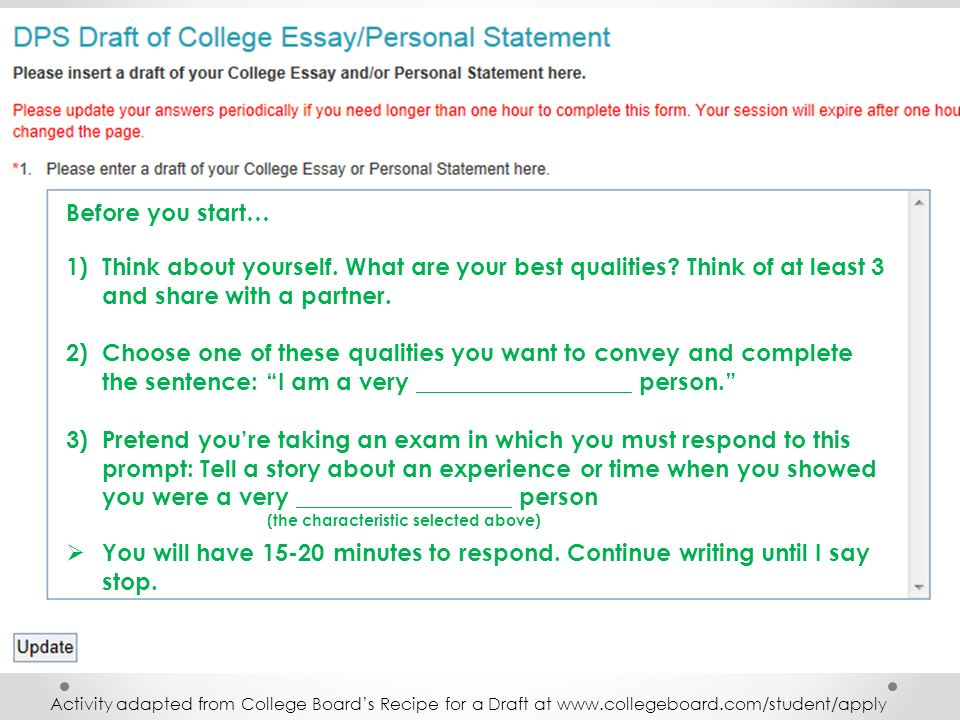 ucas personal statement college confidential