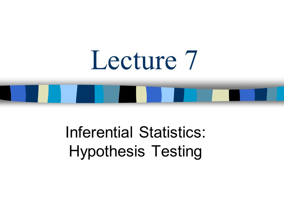 wk 5 group paper inferential statistics With inferential statistics  simplest inferential test is used when you want to compare the test scores or whether a program group differs on the.