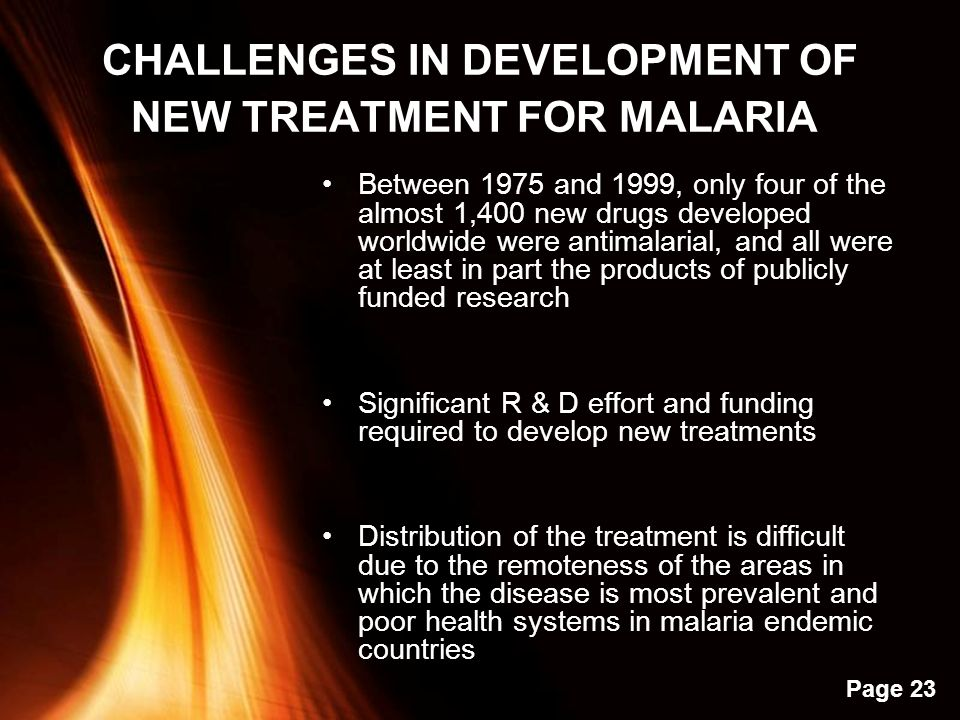 effective malaria treatment is fraught with challenges An effective vaccine for malaria would be a huge step toward eradicating the disease, but experts advocate different approaches malaria is a serious health threat to a large share of the world.