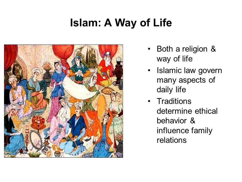 influence of islamic culture and belief However, similar to ethnicity and culture, religion can be an  about the influence  of islamic beliefs and/or practices on american muslim health.