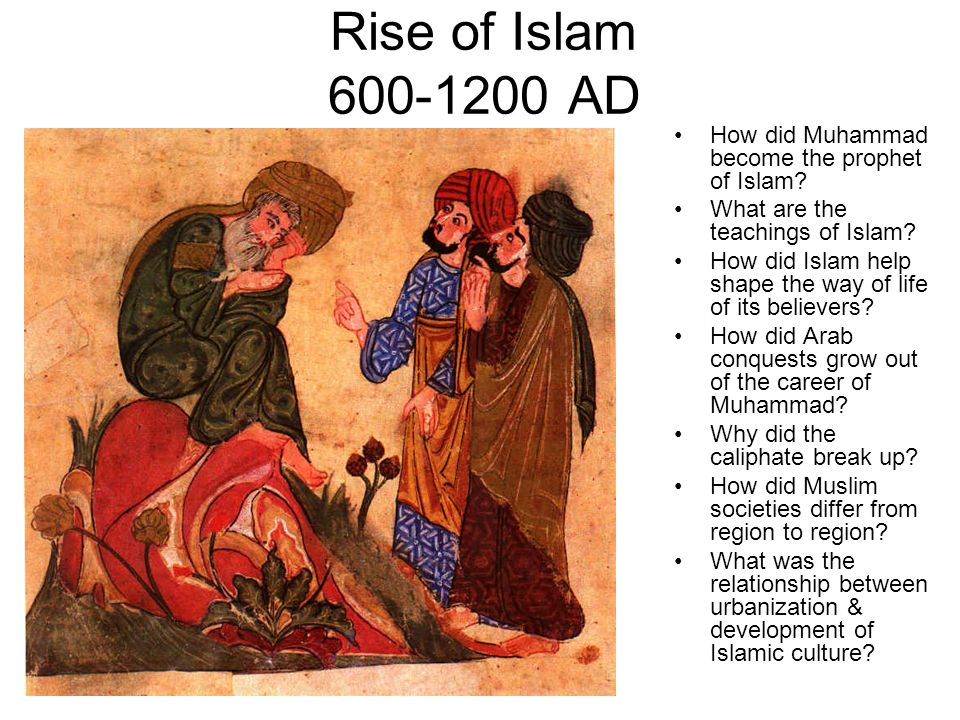 a study of muhammad and the teachings of islam The pilgrims were moved by muhammad's teachings and hoped he groups of people from medina came to mecca and converted to islam this inspired muhammad.