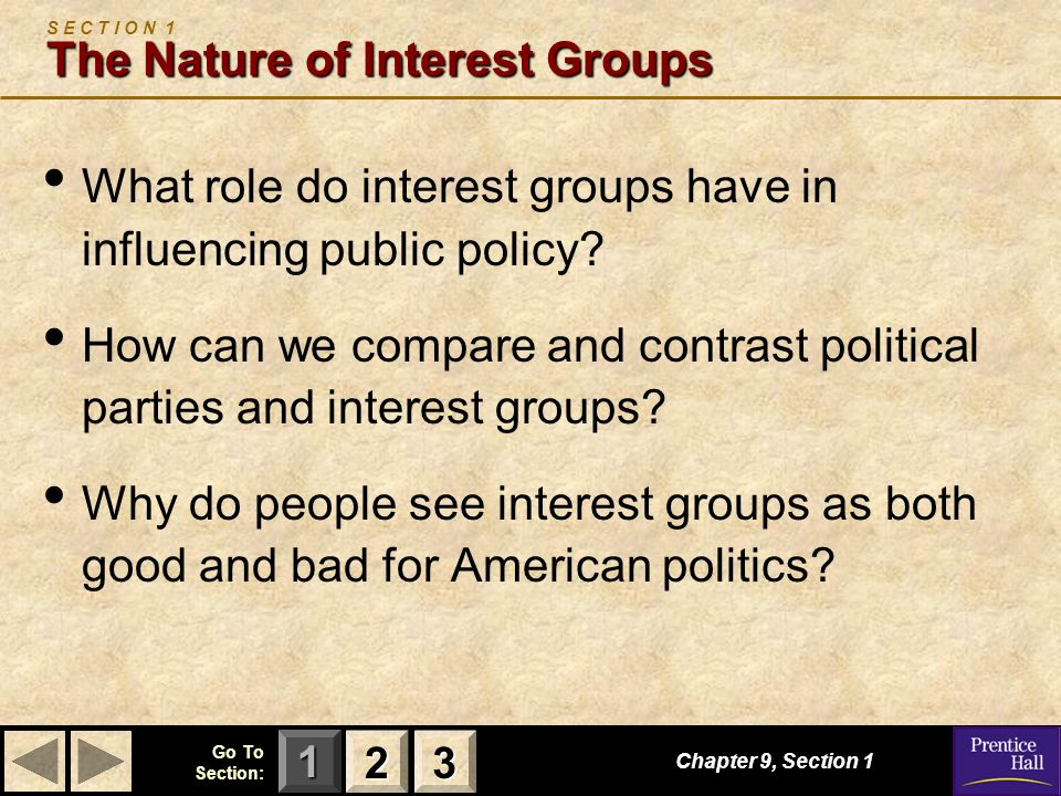 compare and contrast interest groups and political parties Why are political parties  analysing differences between different party systems  highest form of political organization as interest groups would.