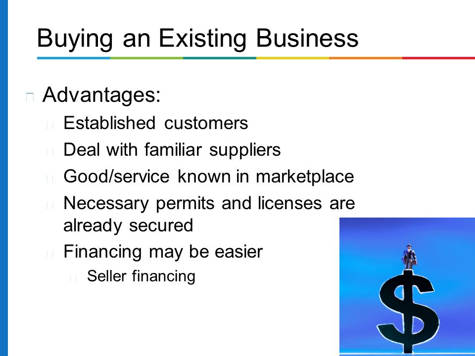 Business plan to buy an existing business