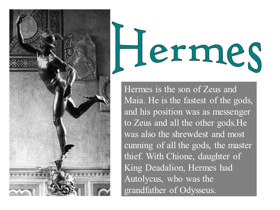 what is hermes relationship with the other gods