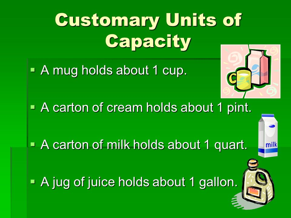Capacity Student Expectation 4 11a Estimate And Use