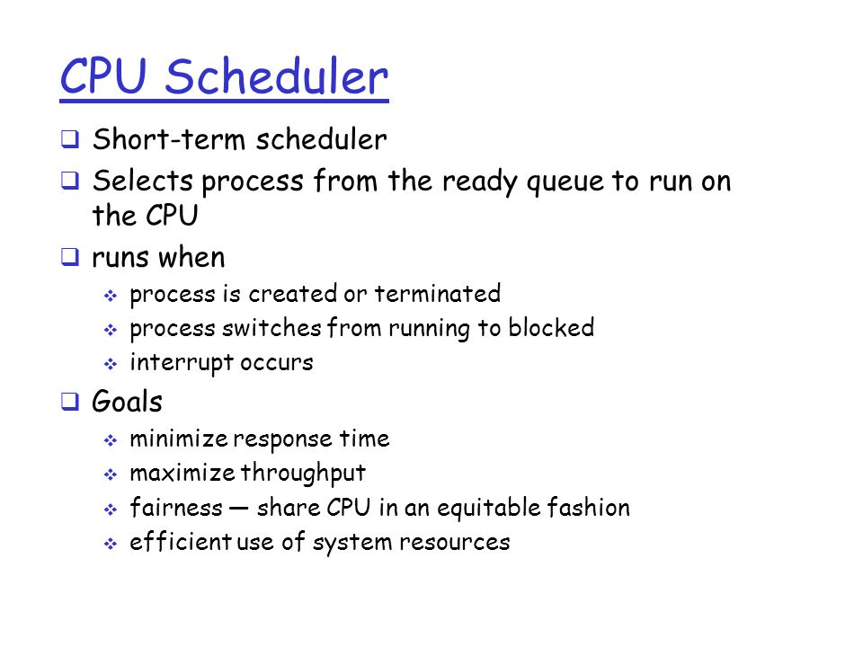 Computer Architecture and Operating Systems CS 3230 ...