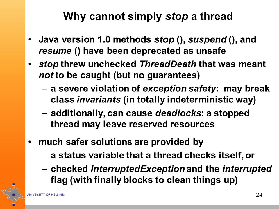 java threads introduction ppt video online download