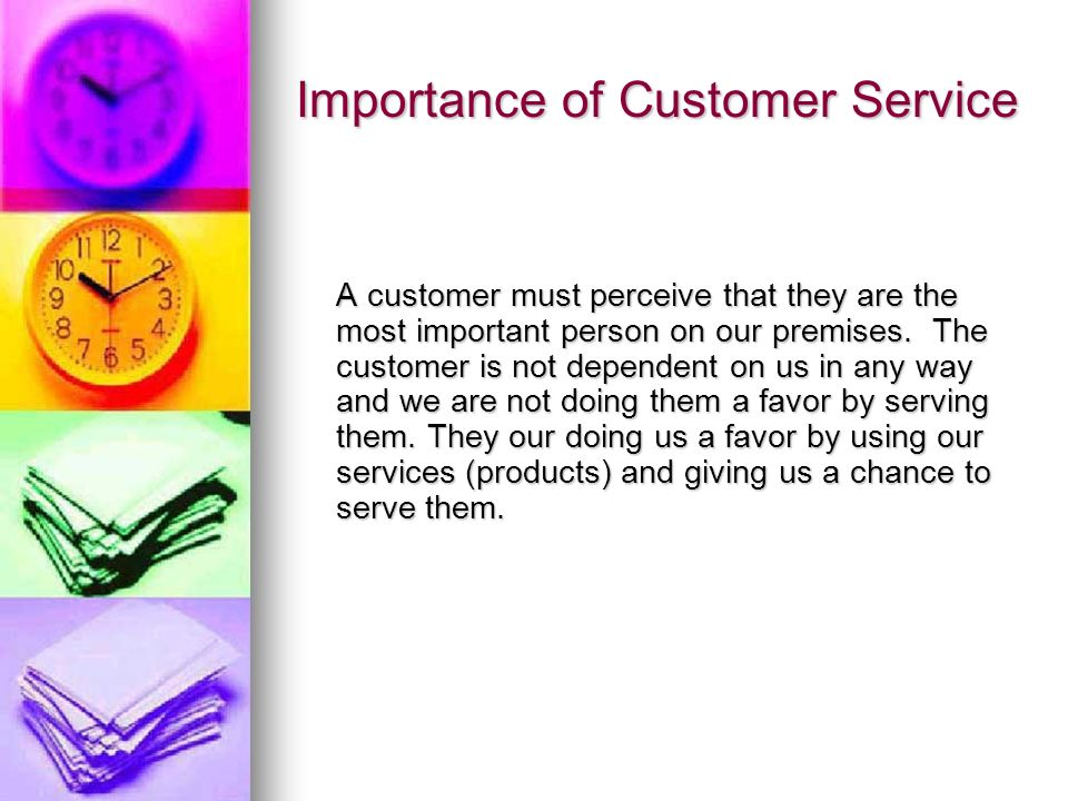 The Importance of Customer Care to an Organization