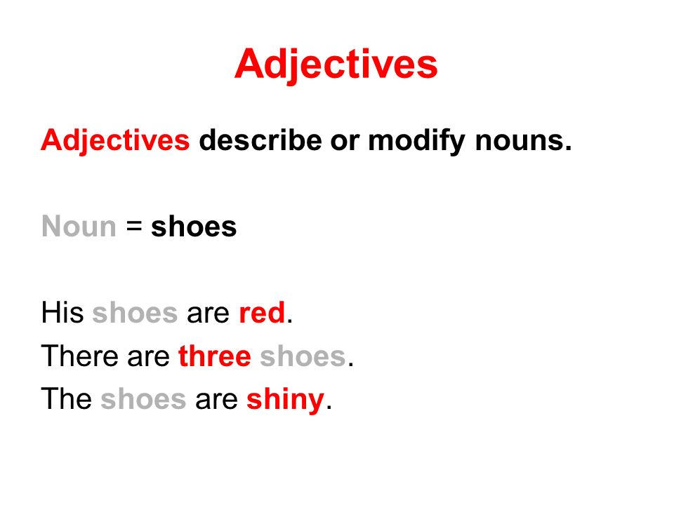 Adverbs and Adjectives - ppt download