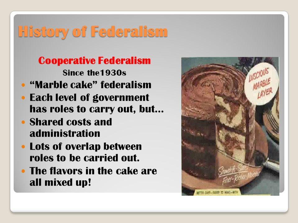 dual vs cooperative federalism