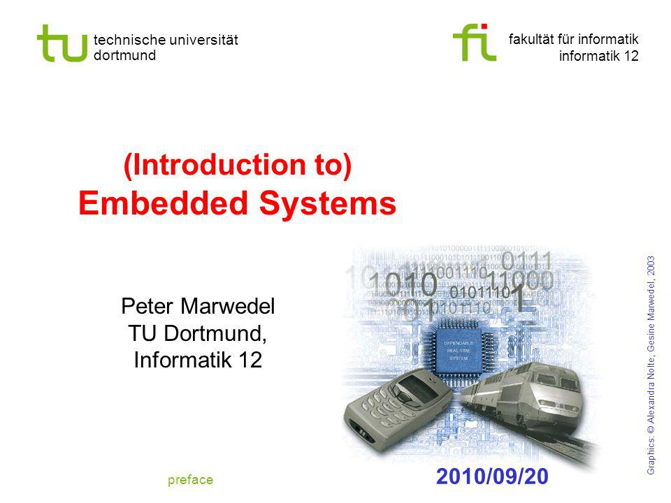 (Introduction to) Embedded Systems