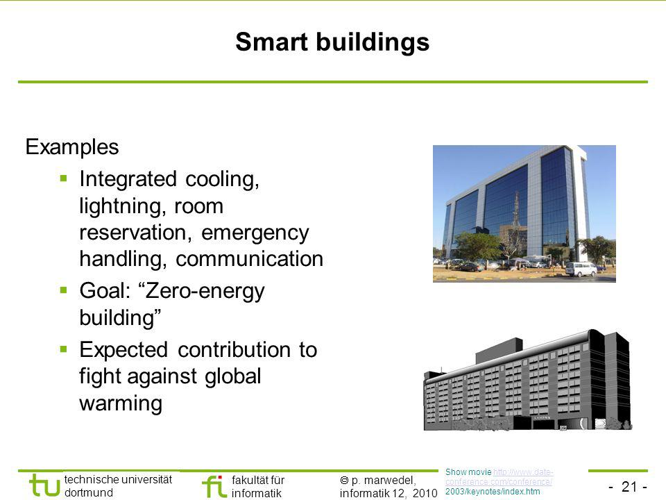 Smart buildings Examples