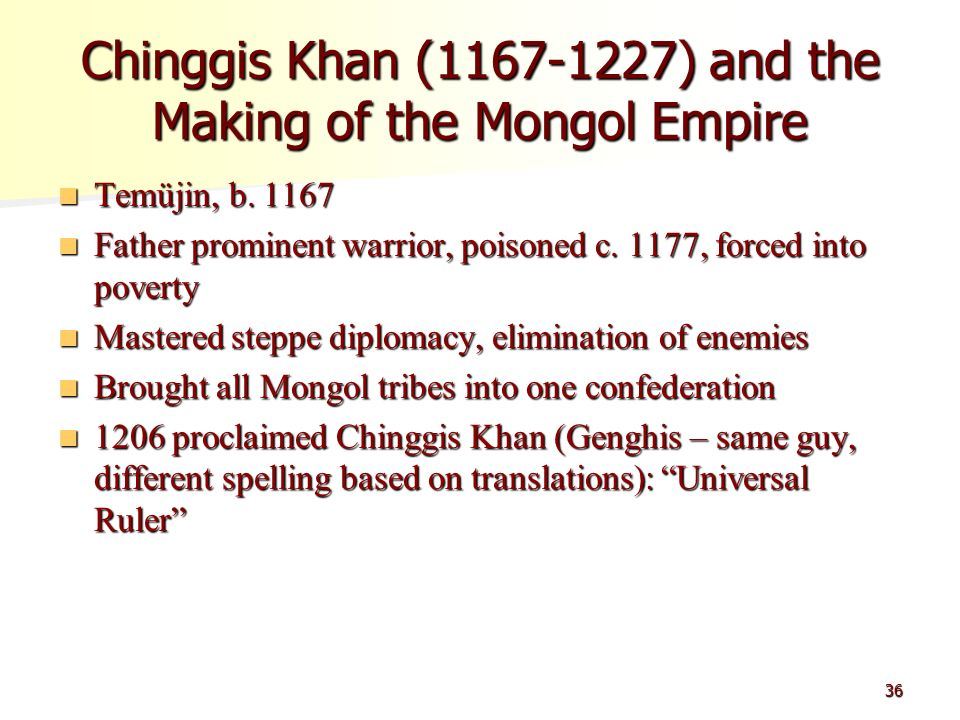 genghis khan and the mongol empire essay Influences, empire, violence - the great genghis khan my account the great genghis khan essay the great  essay about genghis khan and the mongol invasions.