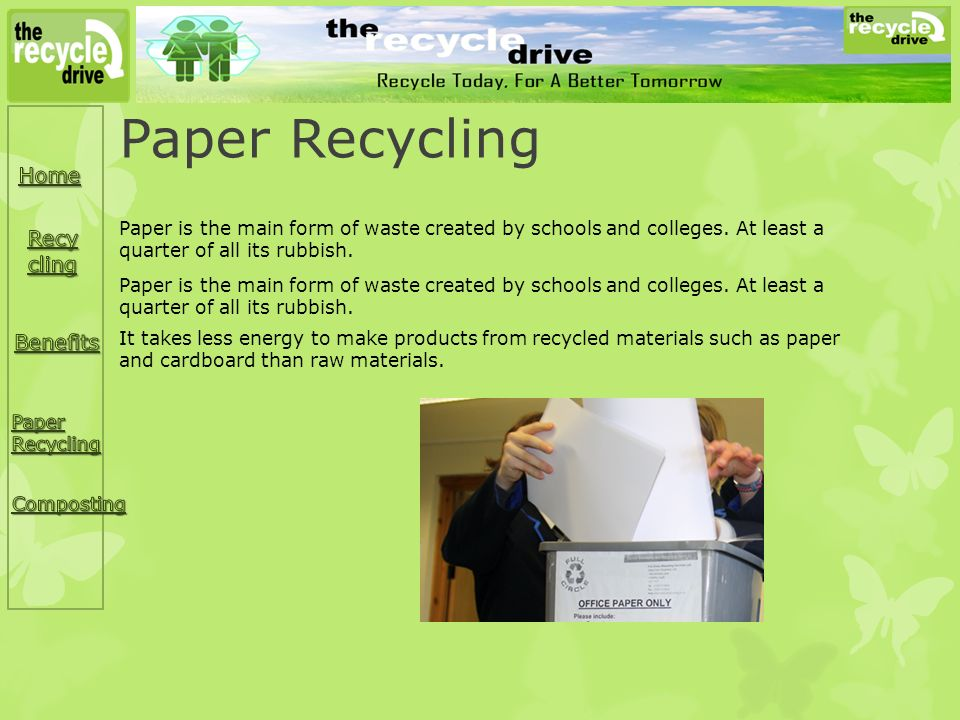 essays on recycling in schools Essays - largest database of quality sample essays and research papers on recycling persuasive.