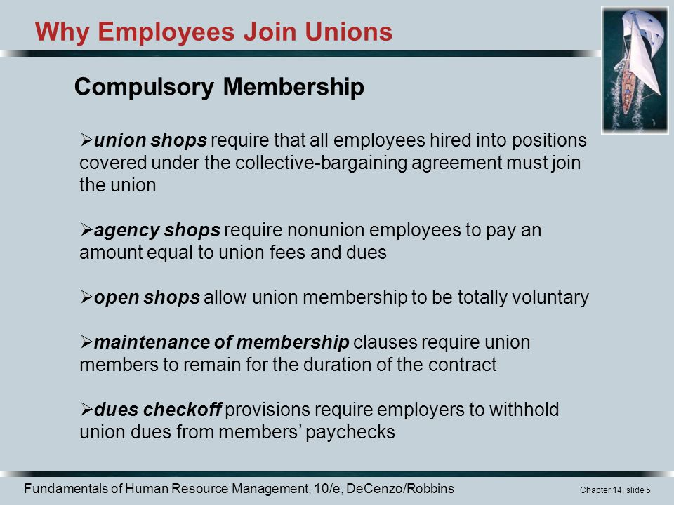 what unions do and why employees join the unions A union in the workplace provides a voice for employees do you know the history behind our education unions why union a union in the why join here are a.