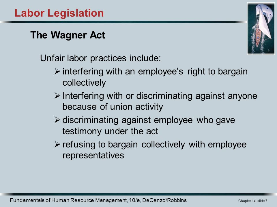 legislation of management and unions Management rights and union security are the major issues related to collective bargaining management rights: almost all labor contracts include management rights these are the rights which are reserved by the employer so that he/she can manage, direct and control its businessunion security: another major concern is that of negotiating union.