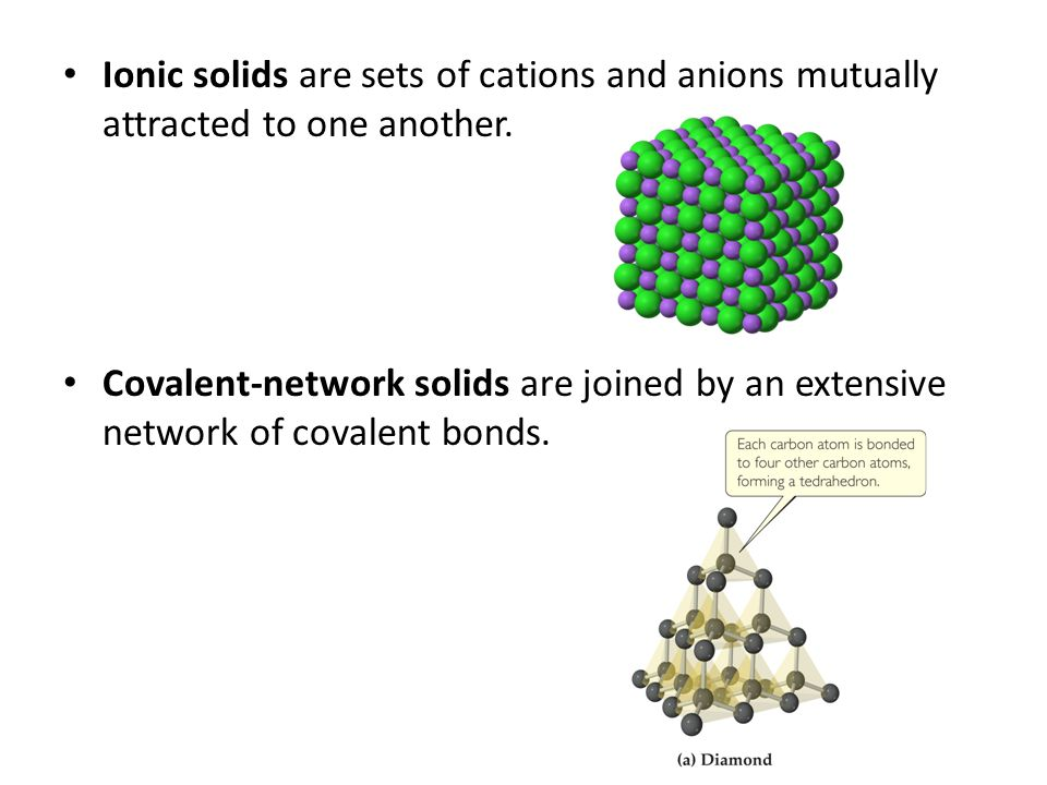 Covalent Solids Chapter 12 – Solids ...