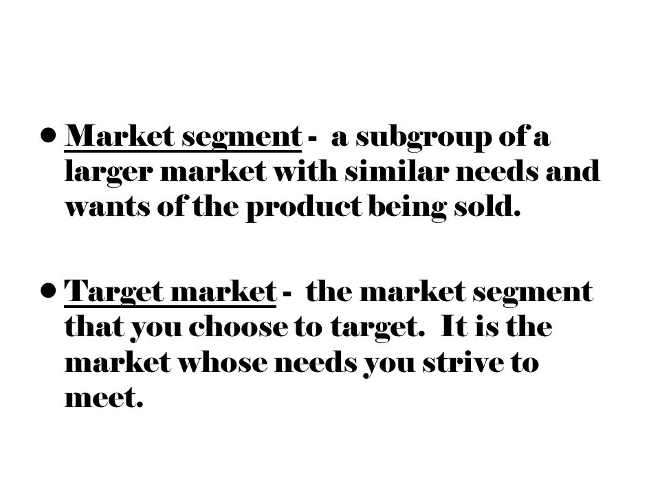 describe the market segment Demographics & lifestyle analysis related the index compares the demand for each market segment with demand for all us consumers and is tabulated to represent.