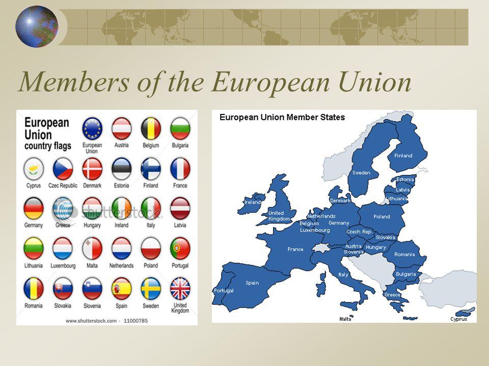 Members of the European Union