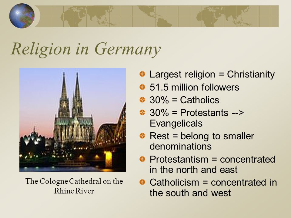 The Cologne Cathedral on the Rhine River