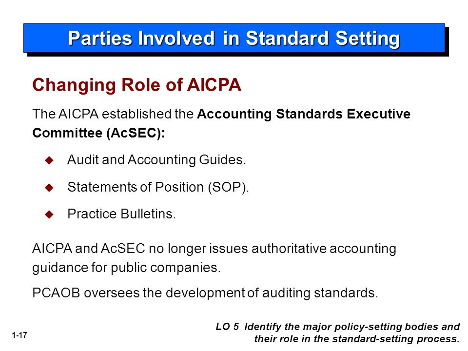 role of accounting standards pdf