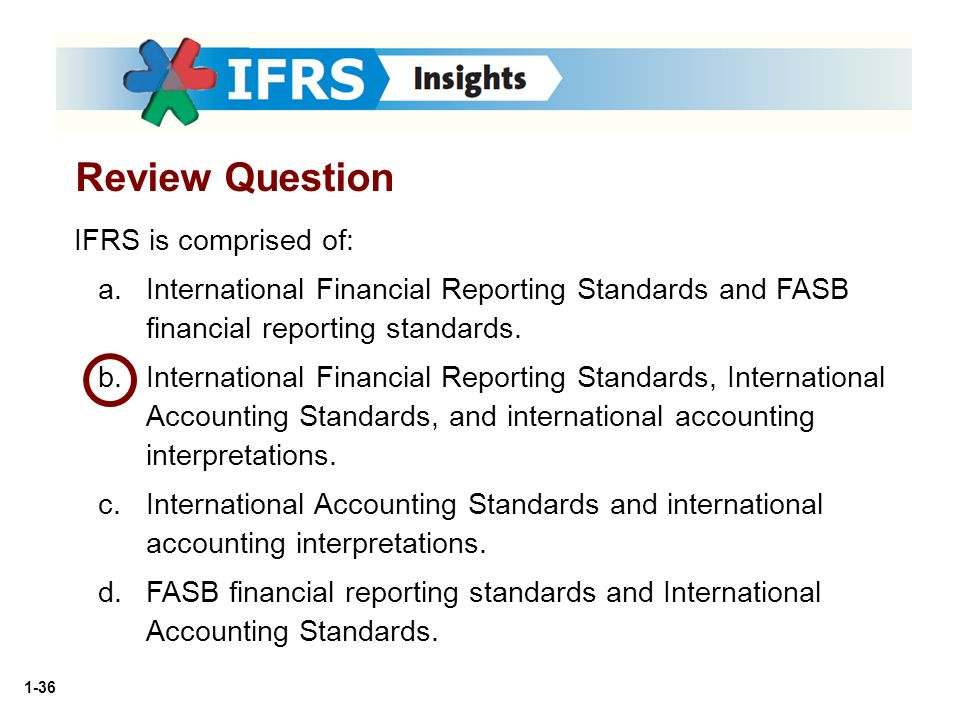 revision question financial reporting standard 2013 Part already included in the responses to question 1 1 presentation of financial  with the revision of the standard  the financial reporting standards for.