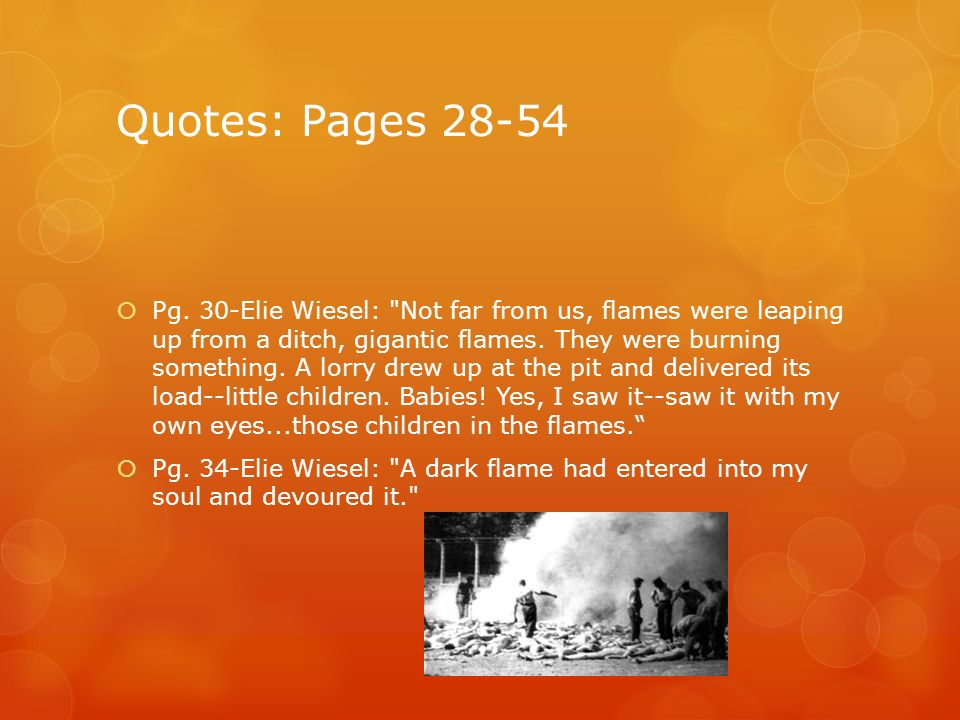 Night By Elie Wiesel Quotes With Page Numbers Enchanting Ppt