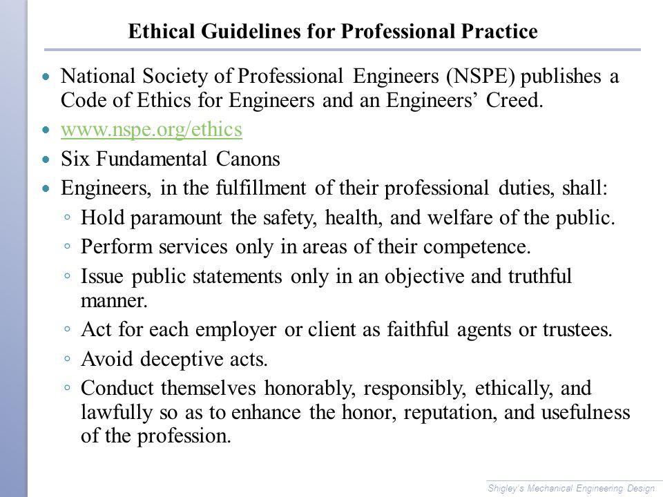 ethics guiedline