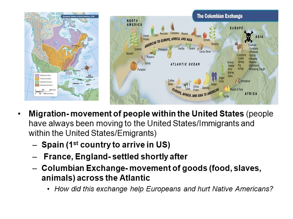 reasons why europeans arrived to america Read story why the europeans came to the americas by nekoyaz another reason that europeans wanted many native americans left, and the europeans couldn't.