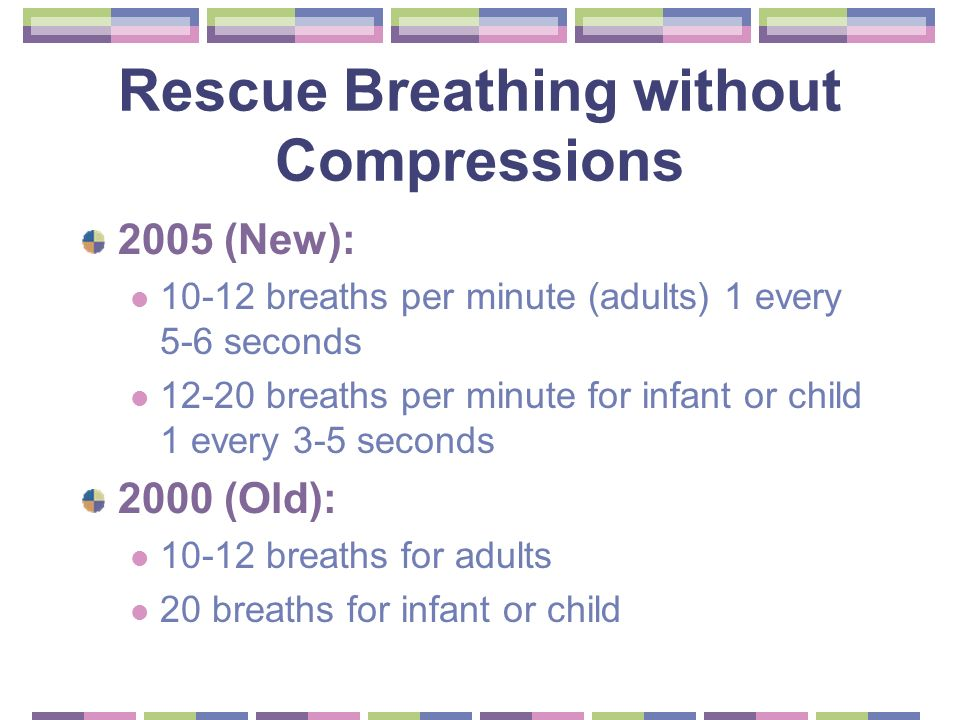 adult rescue breathing aha