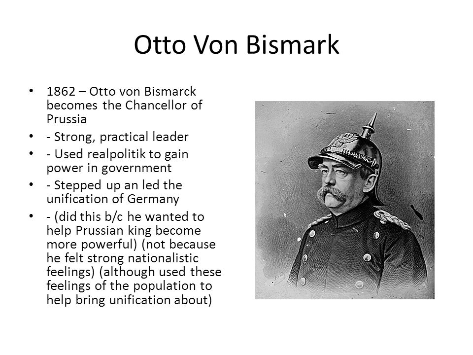 prussia getting stronger by 1862 Find an answer to your question read the excerpt from a speech given by otto von bismarck in 1862 germany is not looking to prussia's liberalism, but to its po.