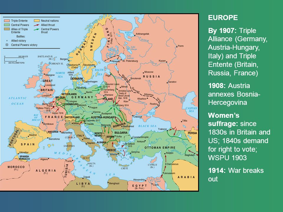 the formation of the triple alliance of germany austria hungary and italy in europe The triple alliance (germany, austria-hungary and italy) formed the basis of the central powers, the dominant alliance bloc in central europe 5 britain, france and russia overcame their historical conflicts and tensions to form a three way entente in the early 1900s.