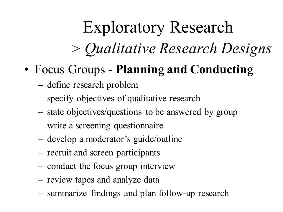 How to Write Focus Group Reports