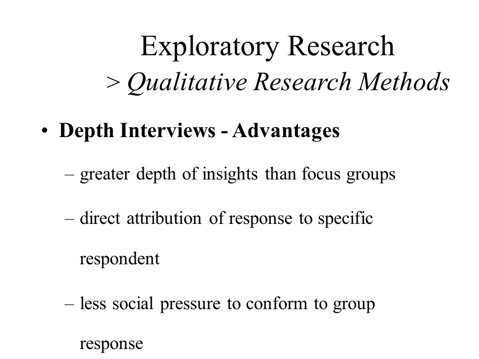 advantages of qualitative research approach