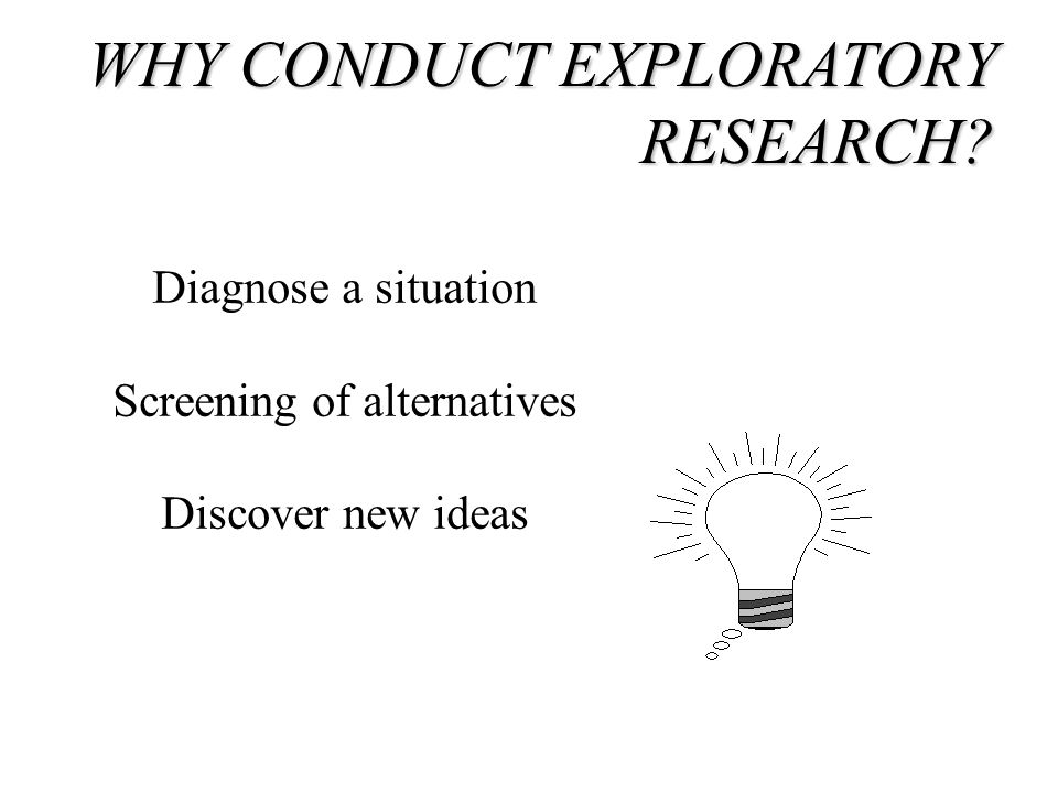 Explanatory research definition