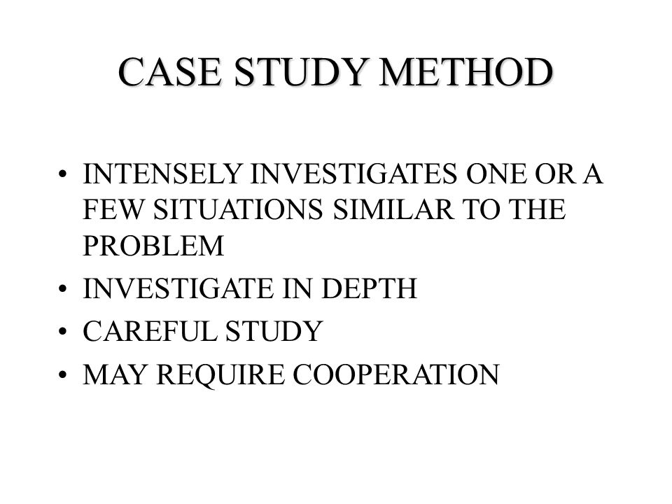 case study method Abstract this article surveys the extensive new literature that has brought about a  renaissance of qualitative methods in political science over.