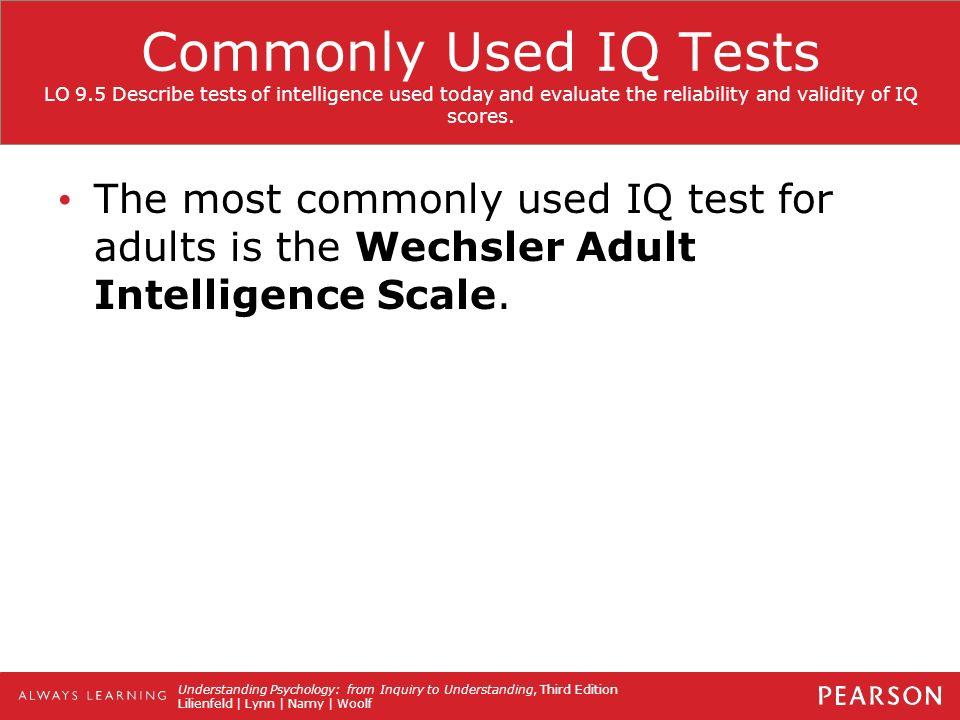 iq test scores