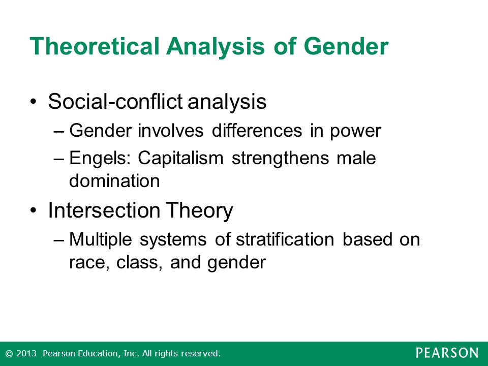 theoretical overview of gender socialization Identity theory shows how gender is a diffuse status characteristic, which is   gender socialization and families: a review of the literature.