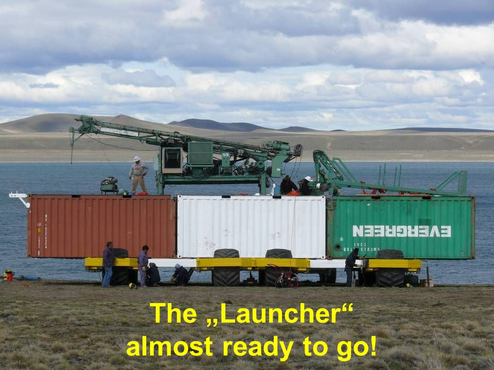 "The ""Launcher almost ready to go!"