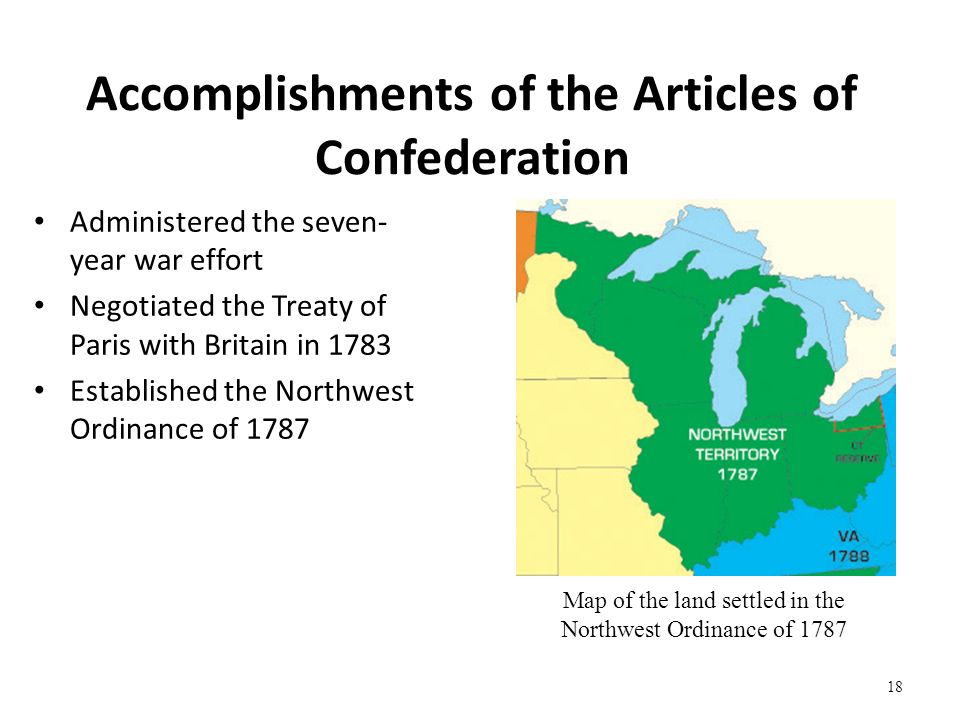 critical view on the articles of confederation ratified in 1781 Rethinking the articles of confederation  whose book the forging of the union, 1781–1789 (1987)  in his view, the opposition.