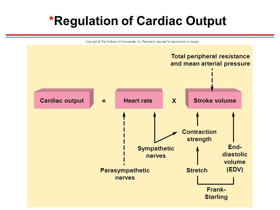 relationship between cardiac output and systemic vascular resistance