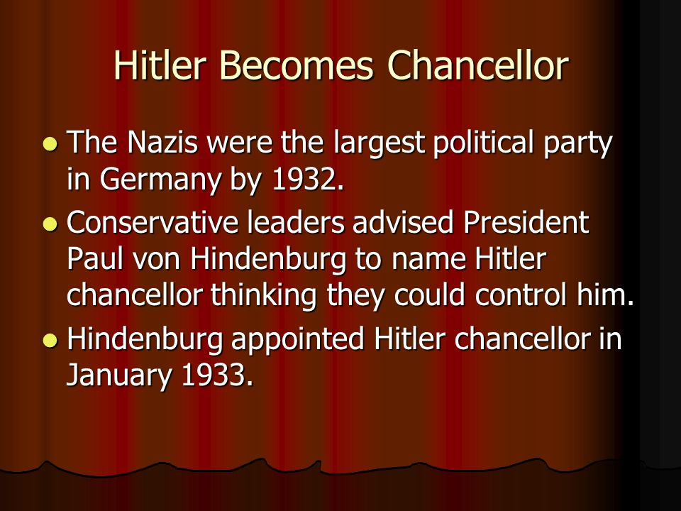 This week in history: Hitler is appointed chancellor of Germany