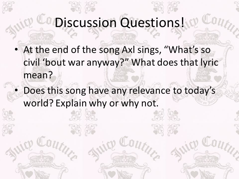 a discussion on the end of world war i World war ii (often abbreviated  hitler believed that the united kingdom's refusal to end the war was based on the hope that the united states and the.