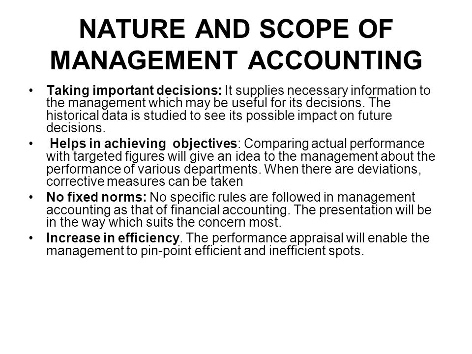 nature and scope of management information system What is the nature and scope of management scope of management covers subject-matter of management and functional  nature of.