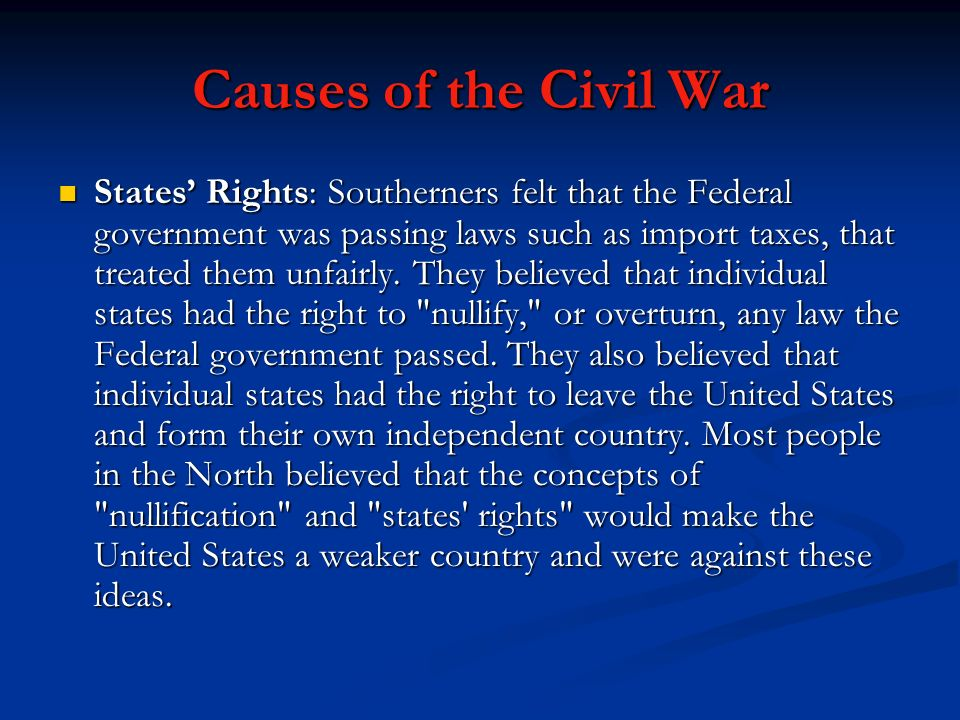 The Civil War. - ppt video online download