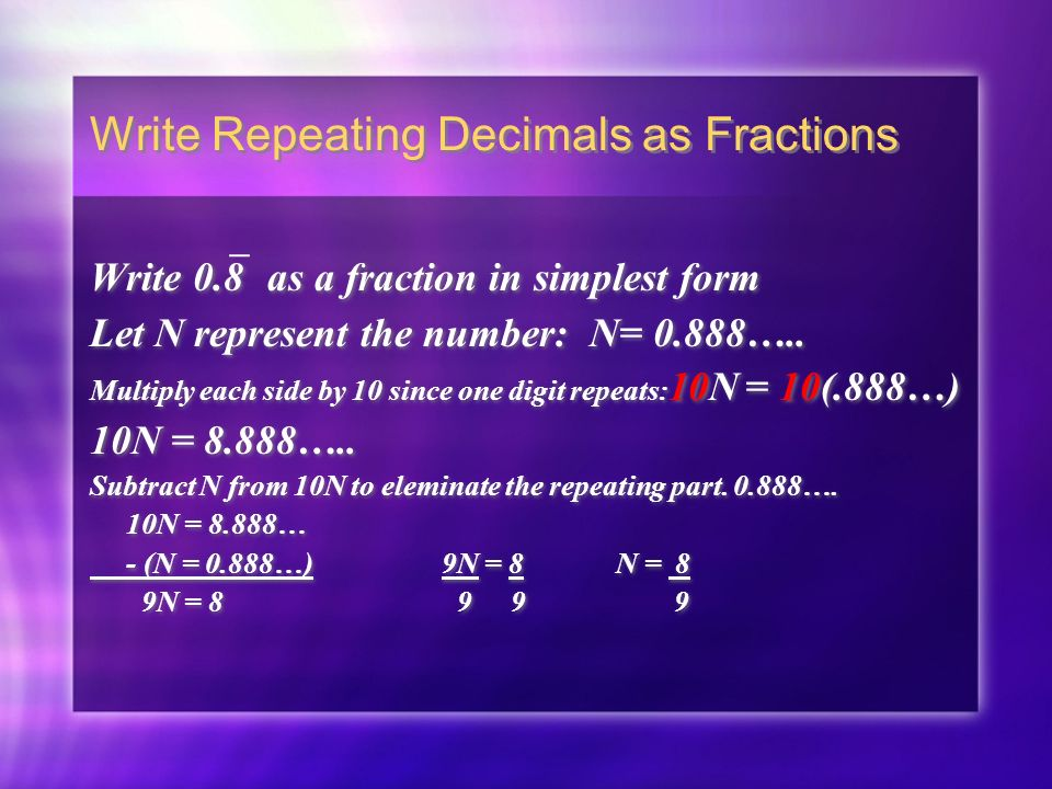 Chapter 5 Lesson 2 Rational Numbers Pgs - ppt video online download
