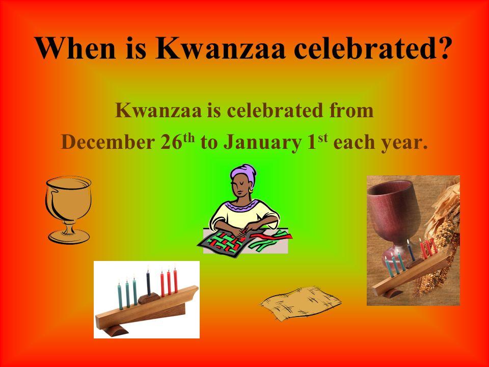 Basic Kwanzaa Powerpoint From School Library Media
